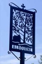 Albourne Sign